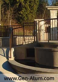 Custom Railing, Curved,  Burnaby