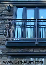 Custom Railing, Juliet Balcony, Anmore