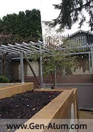 Custom Railing, Trellis West Vancouver