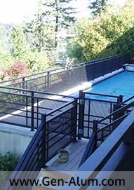 Custom Railing, West Vancouver