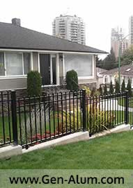 Spear fencing, North Burnaby