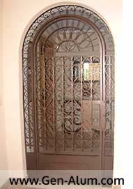 Custom Designer Arched  Gate, Mexico