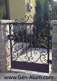 Custom Man Gate, west side Vncouve
