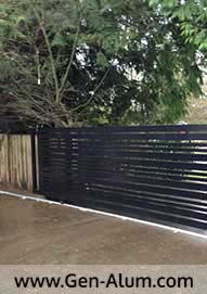 Custom Sliding Driveway Gate, South Lands