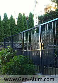 Security Gate, Kerrisdale, Vancouver
