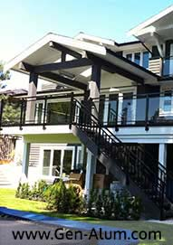 Double Top Glass Railing, West Vancouver