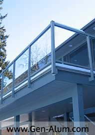 Glass Railing, Ft Langley