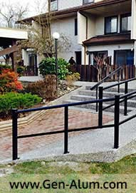 Guard Rails, Maple Ridge, Wheel Chair Railing