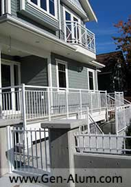 Double top Picket Railing