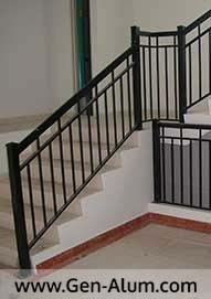 Double Top Picket Railing PV