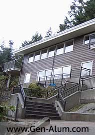 Double Top Picket Railing, West Vancouver
